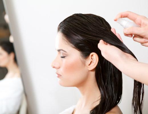 Haare stylen für feines Haare, Haare föhnen