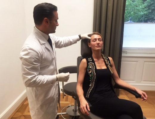 Dr Yusuf Yildirim, Augenbehandlung Filler, Marina Jagemann