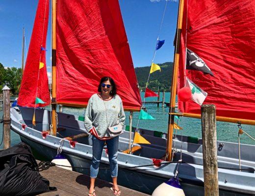 Sail to go, Segeln auf dem Tegernsee, Marina Jagemann