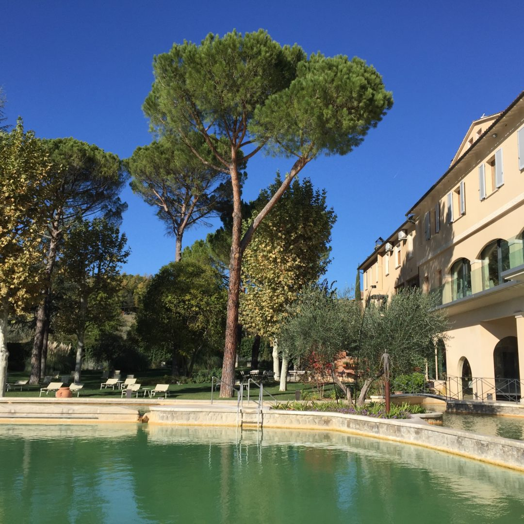 Entspannung im Thermal-Hotel in der Toskana