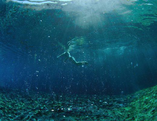 Terme di Saturina - Unterwasserbild
