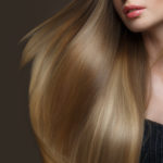 Lange Haare in Blond