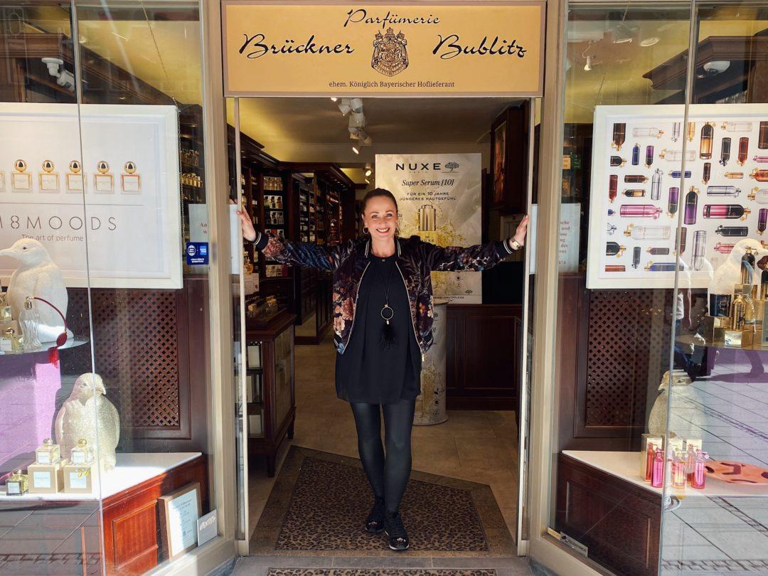 Tanja Bublitz von der Parfümerie Brückner