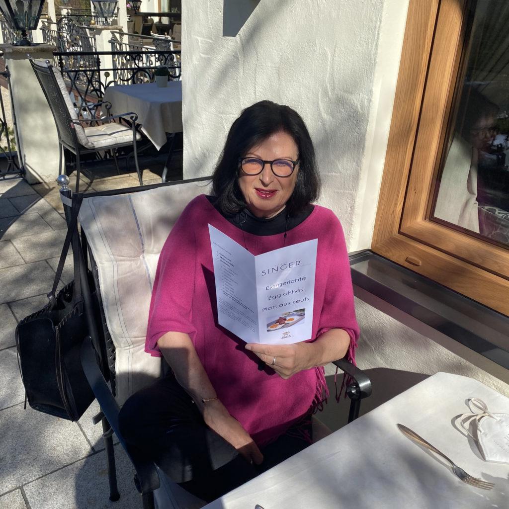 Marina Jagemann im Hotel Singer
